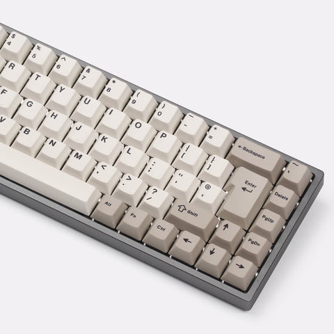 Tada68 mechanical keyboard 65% ISO layout