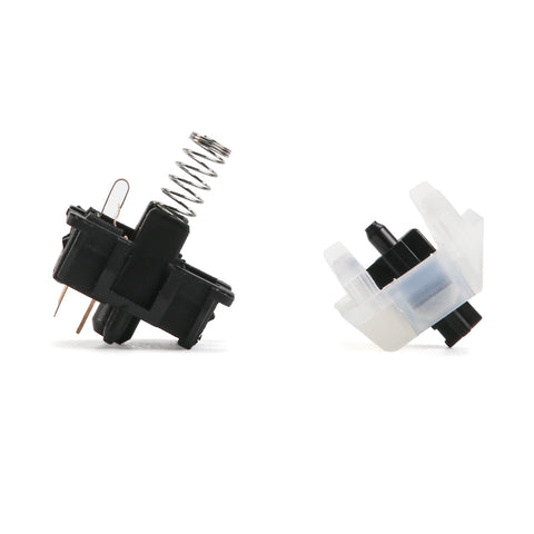 Gateron milk Black switches(10 pcs) (3820319014960)