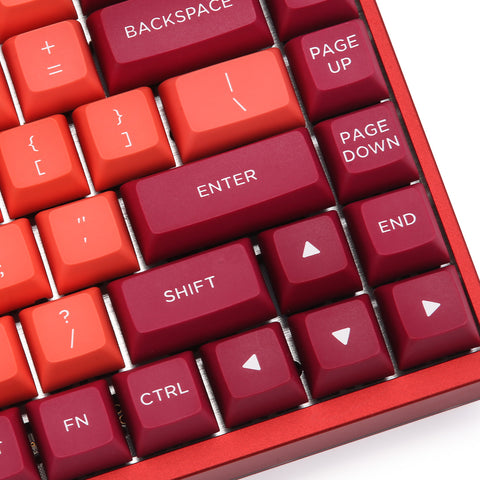 WINMIX Lava Orange PBT Doubleshot keycap Set (3901503864880)
