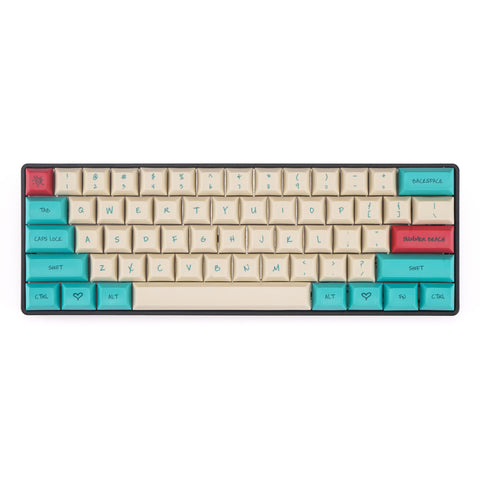 DSA Hawaii theme keycaps