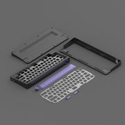 [Restock] D60 HHKB Black Mechanical Keyboard Diy Kit