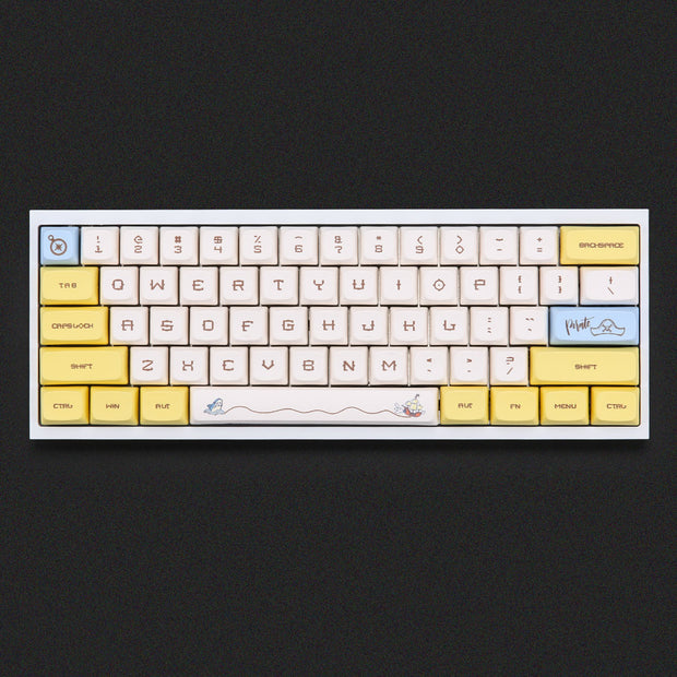 NP pirates keycaps set