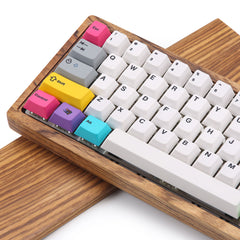 Fully assembled Wood custom keyboard