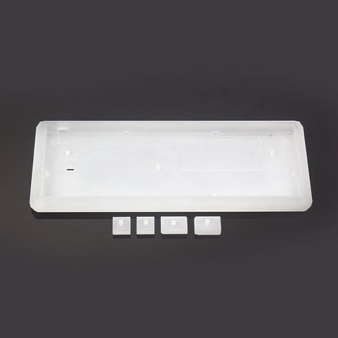 KBDfans5° Transparent/Frosted acrylic CNC 60% case (215295524877)