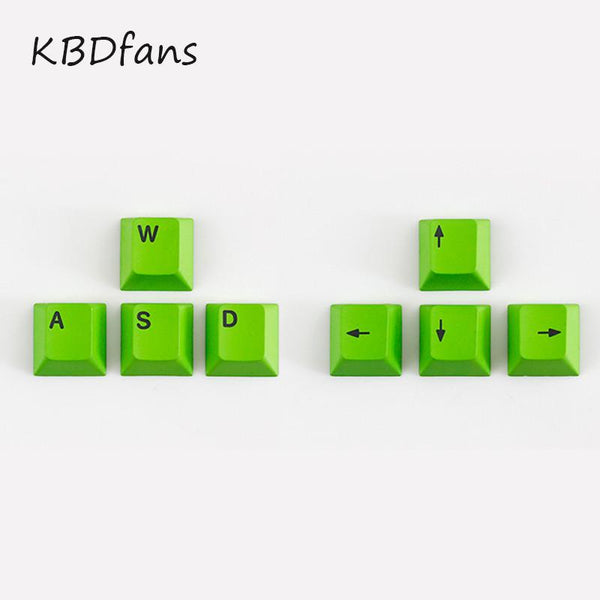 NPKC dye-sub keycaps WASD key  arrow key