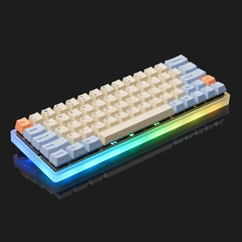 Fully Assembled 60% Frosted Acrylic Keyboard