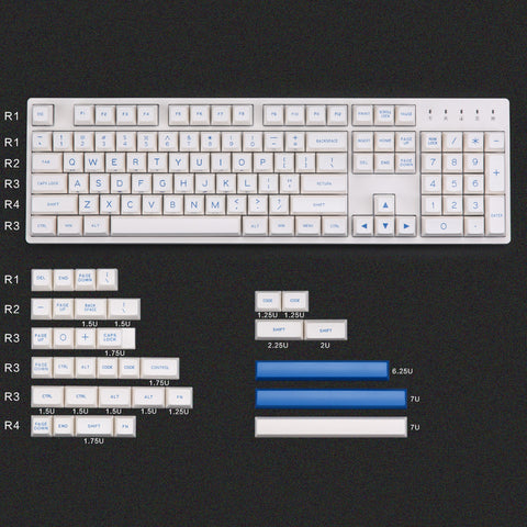 MAXKEY PS Keycaps set (3889106550832)