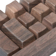 WALNUT KEYCAPS OEM PROFILE