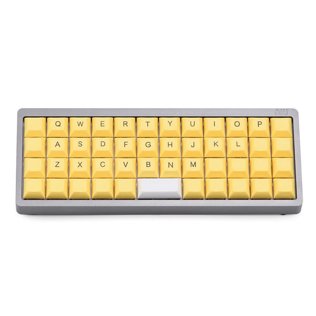 dye-subbed DSA Ortholinear Keycap Set