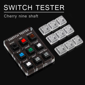 Switches 9 Cherry MX Keyboard Tester
