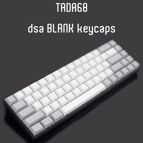 blank DSA keycaps for tada68/gh60/poker