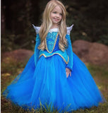 Long Sleeved Tulle Princess Dress