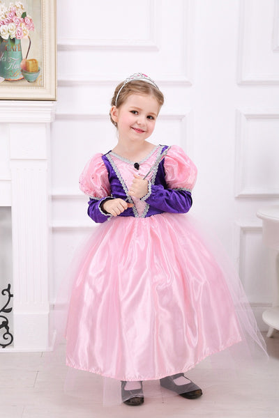 Pink Contrast Princess Dress