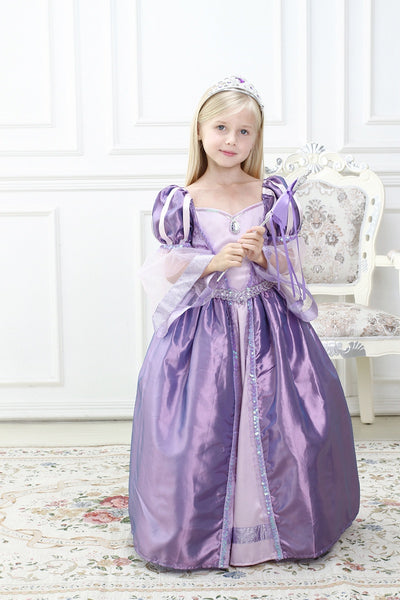 Purple Ball Gown Princess Dress