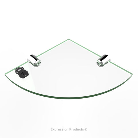 Corner Acrylic Shelf - Style 001 - Expression Products Ltd