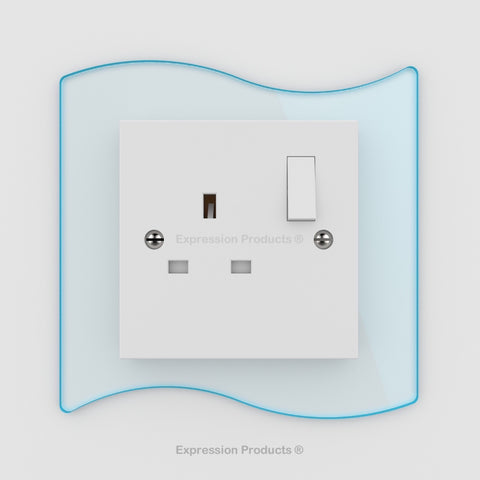 Switch or Socket Surround Plate - Style 003 - Expression Products Ltd