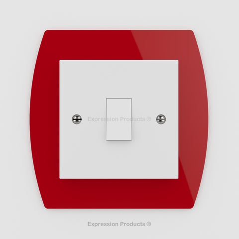Switch or Socket Surround Plate - Style 004 - Expression Products Ltd