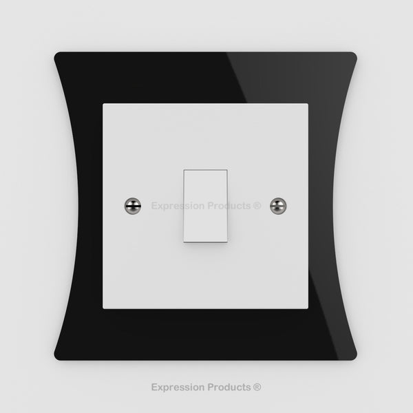 Switch or Socket Surround Plate - Style 007 - Expression Products Ltd