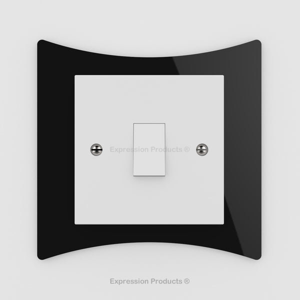 Switch or Socket Surround Plate - Style 008 - Expression Products Ltd