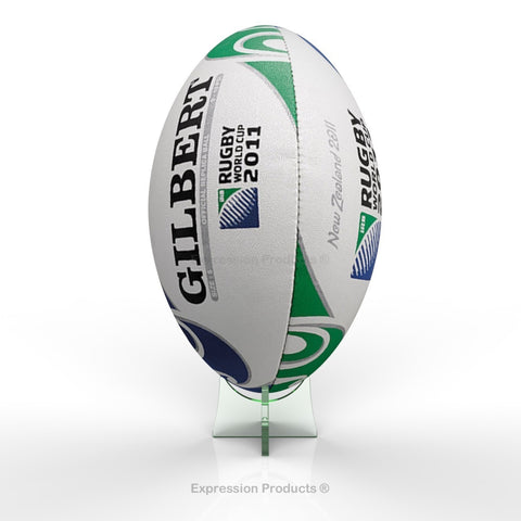 Rugby Ball Display Stand - Expression Products Ltd