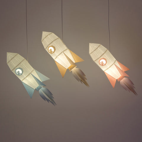 ROCKET - DIY PENDANT PAPERLAMP KIT