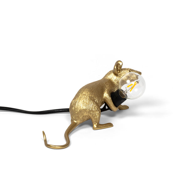 Mouse Lamp Gold Lop