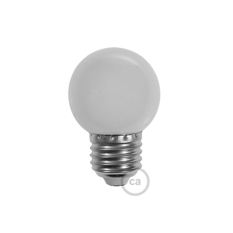 Lâmpada decorativa G45 golfball LED 1W E27 2700K - Opalina-Creative Cables-Light & Store-Light & Store