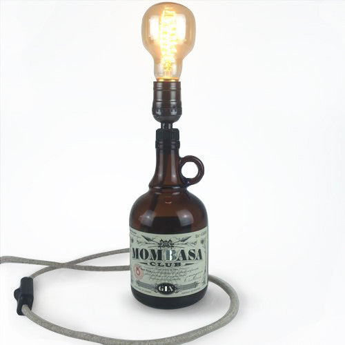 Mombasa Bottle Light-handmade-Light & Store-Light & Store