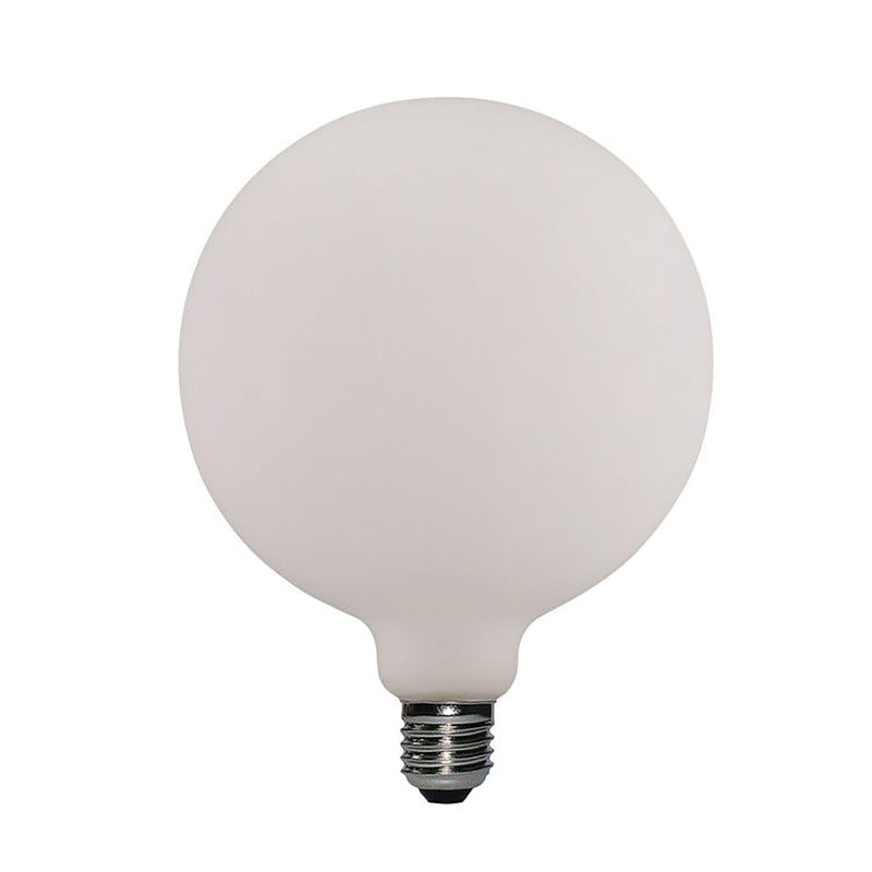 Led Porcelain Light Bulb G155 6W E27 Dimmable 2700K