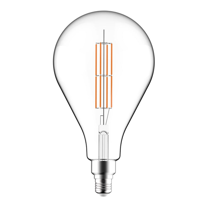LED Clear Light Bulb XXL A165 Double Long Filament 11W E27 Dimmable 2700K