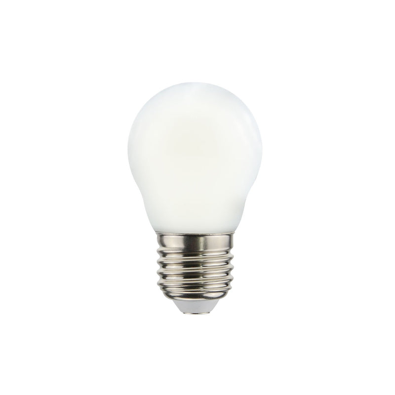 LED Globetta G45 Decorative Milky 2.2W E27 Dimmable 2700K Bulb