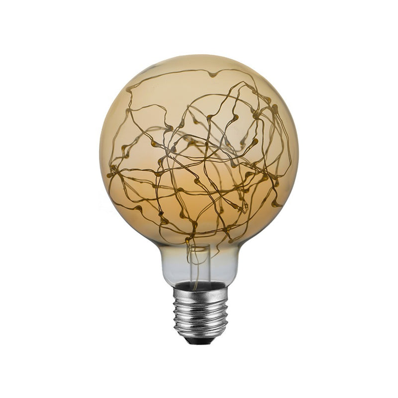 LED Globe G95 Light bulb - A thousand Lights Gold 2W E27 2000K