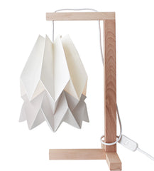 CANDEEIRO DE MESA ORIGAMI 2 CORES-candeeiros-Light & Store-Polar White + Light Grey-Branco-Light & Store