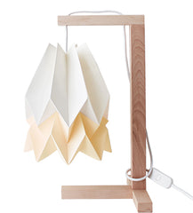 CANDEEIRO DE MESA ORIGAMI 2 CORES-candeeiros-Light & Store-Polar White + Pale Yellow-Branco-Light & Store