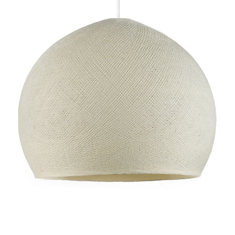 Dome M lampshade made of polyester fiber, 35 cm diameter - 100% handmade