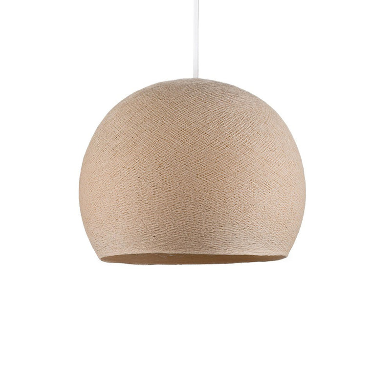 Dome XS lampshade made of polyester fiber, 25 cm diameter - 100% handmade