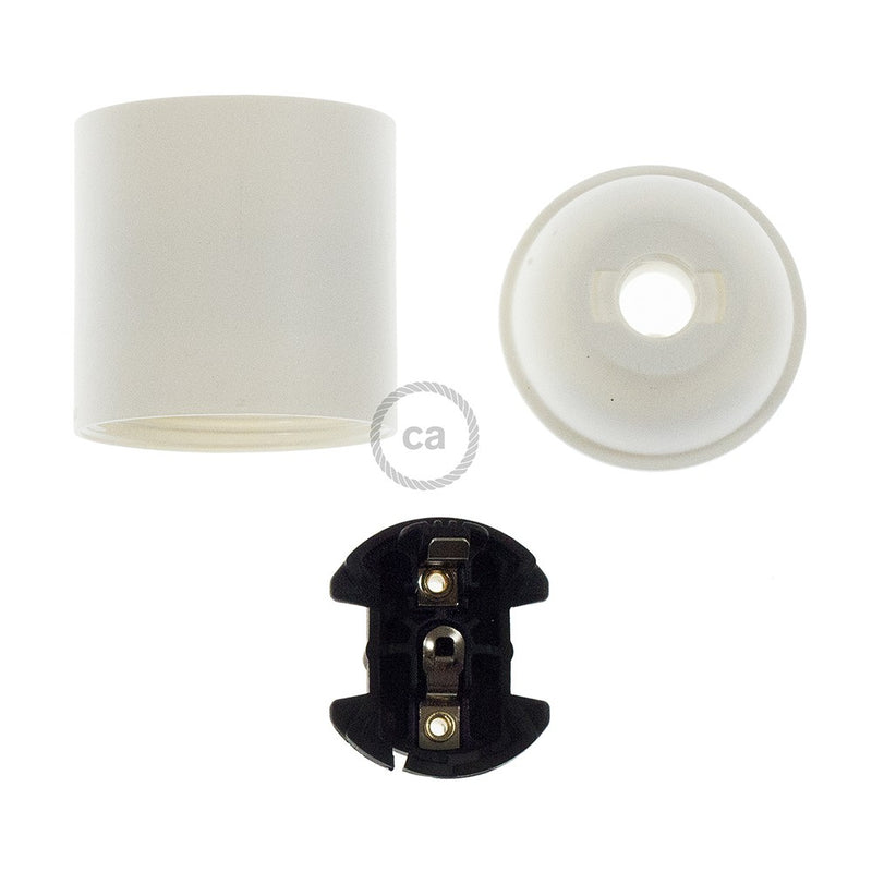 Thermoplastic E27 lamp holder kit