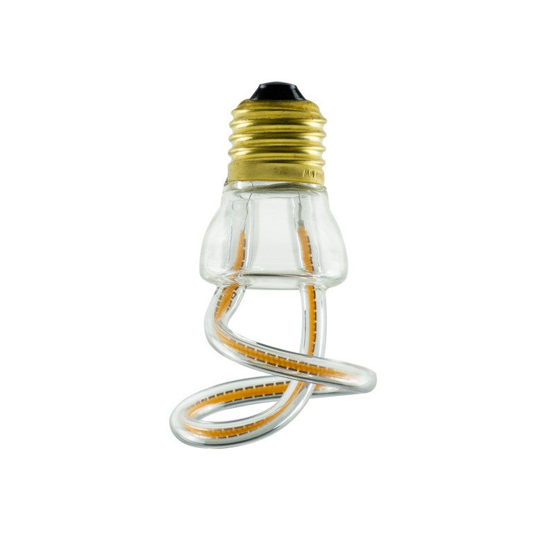 LED Art Curled Light Bulb 8W E27 Dimmable 2200K