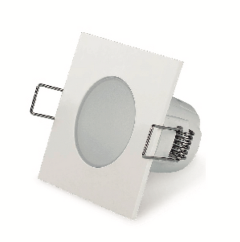 DownLight LED Spot Quadrado 5W IP54-Light & Store-Branco-Light & Store