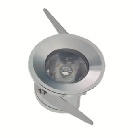 Mini Spot LED Redondo 1W IP20
