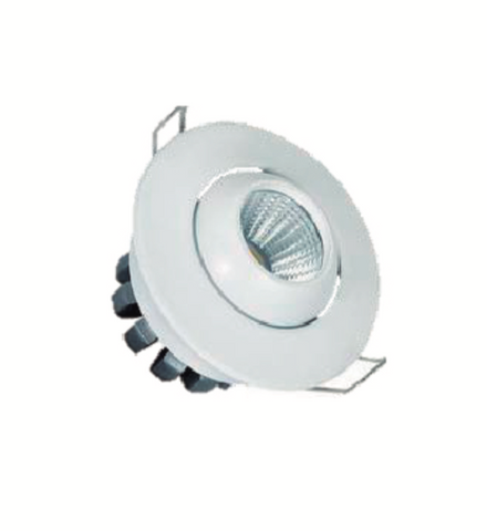 Mini Spot LED Basculante Redondo 3W IP20