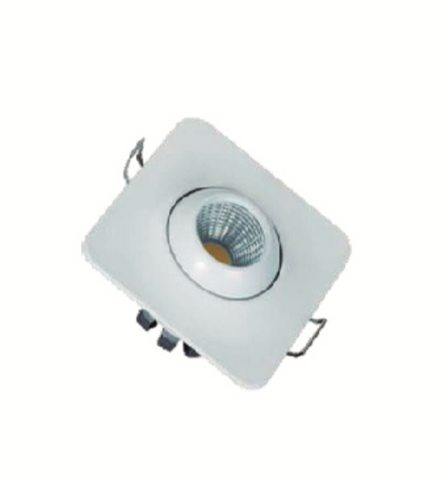 Mini Spot LED Basculante Quadrado 3W IP20