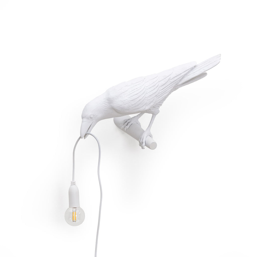 Bird Lamp Looking Left