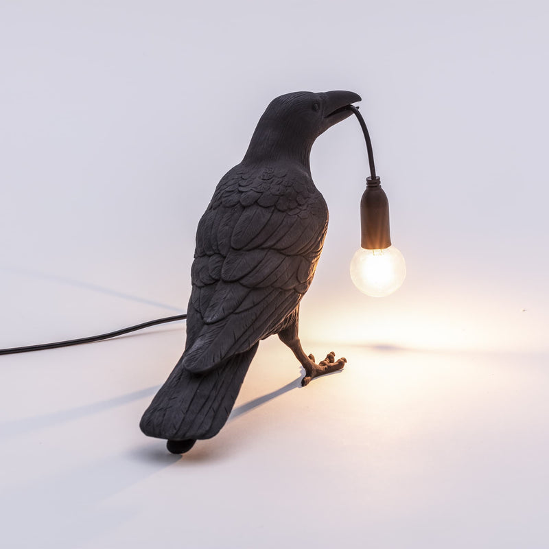 Bird Lamp Waiting OUTDOOR