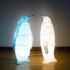 Emperor Penguin - DIY Colour Paperlamp-Candeeiros-Light & Store-Light & Store