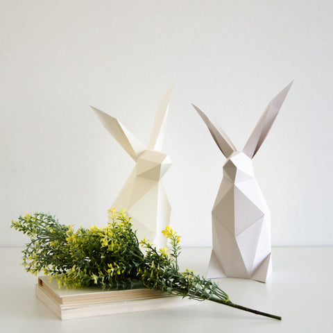 Rabbit - DIY Colour Paperlamp