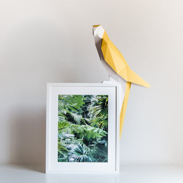 Parrot - DIY Colour Paperlamp Caramel-Candeeiros-Light & Store-Light & Store
