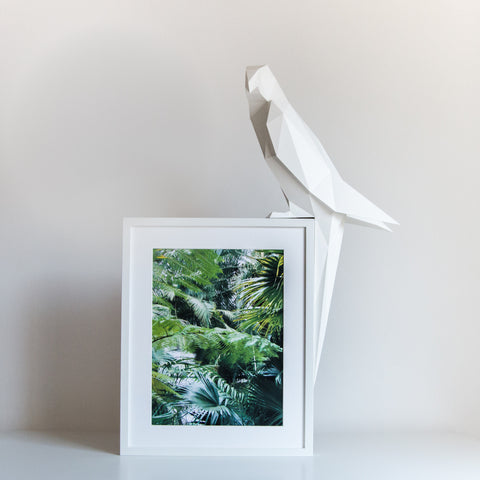 Parrot - DIY White Paperlamp