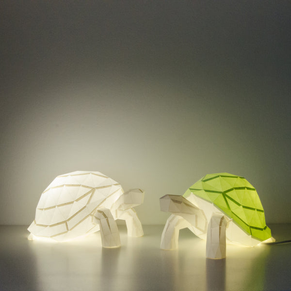 Tortoise - DIY Paperlamp-Candeeiros-Light & Store-Branco-Light & Store