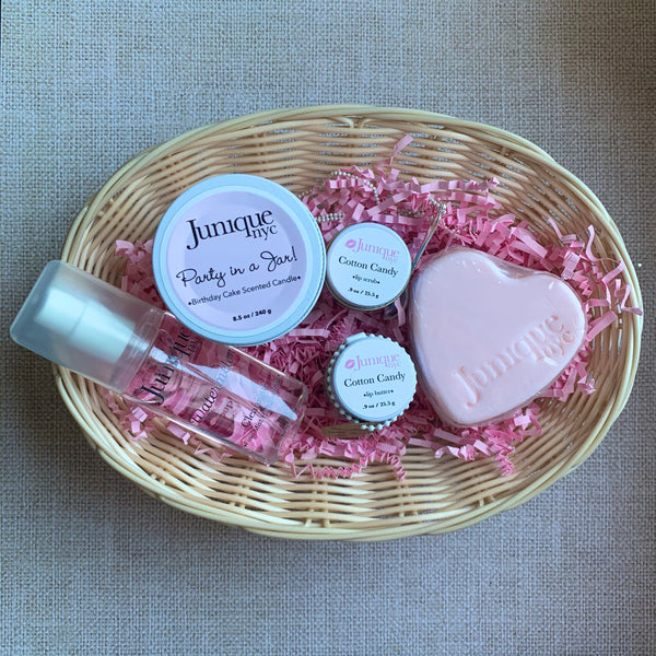 """Junie's Favorites"" Gift Basket"